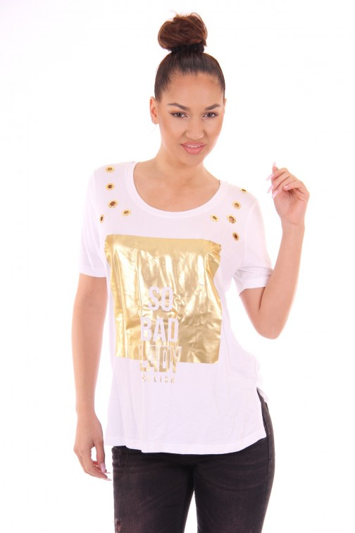Relish T-shirt Sabrosa, gold