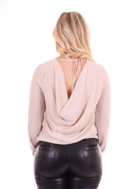 Relish Faghi top in champagne