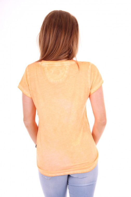 Goldbergh t-shirt Frida in neon peach