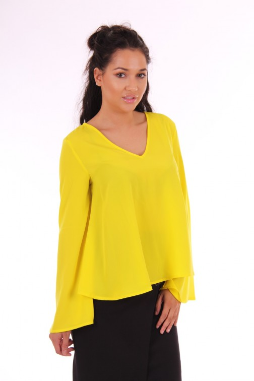 Supertrash Bembisa tunic top in geel