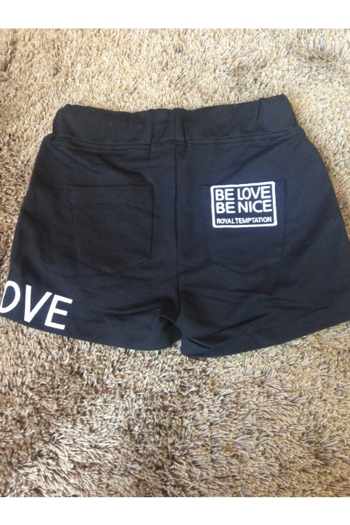 Royal Temptation Be Love short zwart