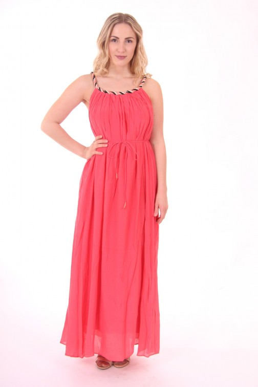 Suncoo Chery maxidress in grenadine