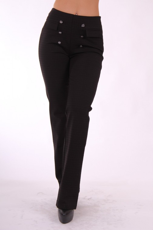 Supertrash Pavira pantalon in zwart