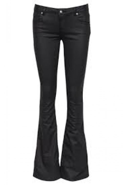 Supertrash Peppy flare jeans in zwart