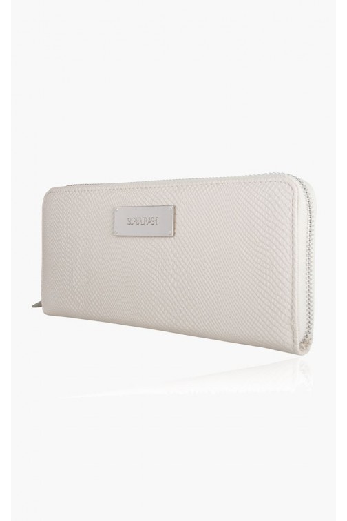 Supertrash Jane wallet in créme