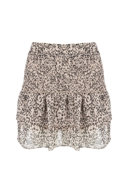 Jacky Luxury ruffle skirt - leopard