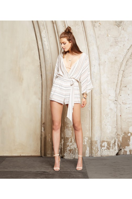 Josh V Neve playsuit in ivory