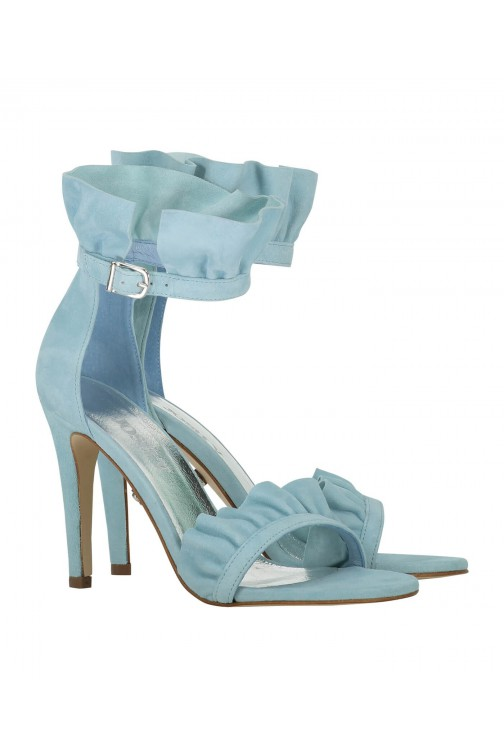 Josh V Noella pumps in ocean green