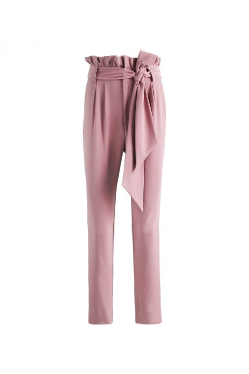 Josh V Nuna broek in Old Pink