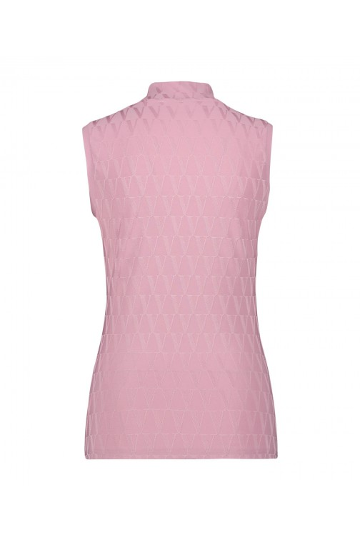 Josh V Tandil top in pink - V- logo