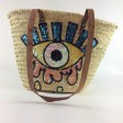 Beachbag met pailletten, EYE - big