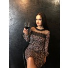 Liu Jo leopard dress