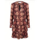Jacky Luxury JLFW19004 snakeprint dress