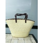 beach bag met tiger print
