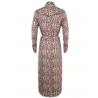 Jacky Luxury JLFW19040 Leopard mididress