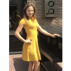 Nikkie N.7-149.2002 Jessie dress in warm yellow