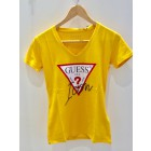Guess W94I89K7DEO yellow Icon tee