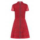 Nikkie Rona dress in red