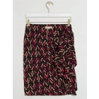 Josh v JV-2007-0503 skirt in logo print black
