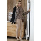 Jacky Luxury leopard top