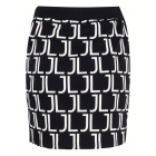 Jacky Luxury logo skirt