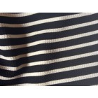 strided off-shoullder tunic