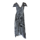 zebra maxidress by g.sel