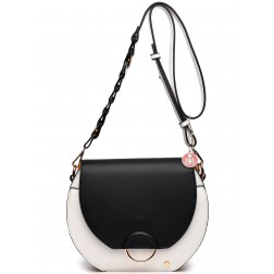 TRC crossbody tas colorblock - black