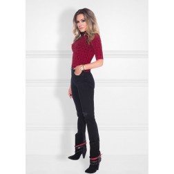 Nikkie perfect Logo top red - black