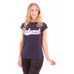Nikkie by Nikkie T-shirtje in navy: AWKWARD