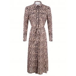 Jacky Luxury midi dress in Leopard
