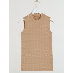Josh V Tobi top in pecan - V- logo