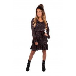 Royal Temptation gambling dress in zwart