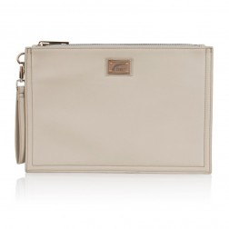 Josh V Caressa clutch in cream