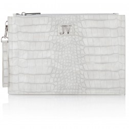 Josh V Caressa clutch in Heavy cloud