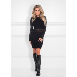 Nikkie Krista dress in zwart