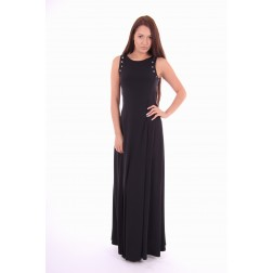 G.sel maxidress, Damienne in zwart