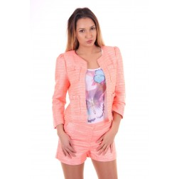 Jacky Luxury jasje in coral & peach