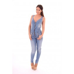 Relish Brittney jumpsuit in denim