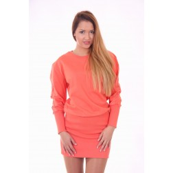 B.loved sweaterdress in coral