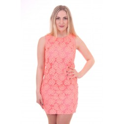 Kanten Jacky Luxury dress in papaya