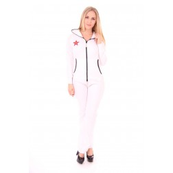 CCR jumpsuit in wit