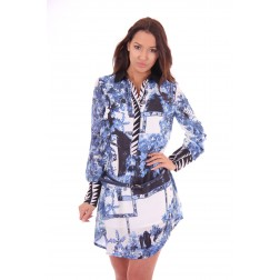 Tailor & Elbaz tunicdress Bodil in print