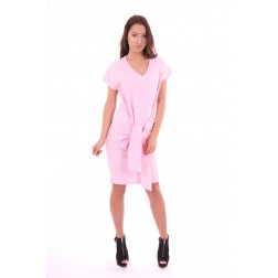 Tailor and Elbaz dress, Branca in pink