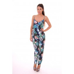 Lipsy London Blu Tropica jumpsuit