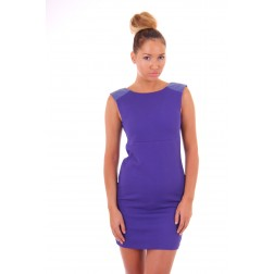Josh V Melitza dress in blue