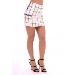 Josh V Jaeda skirt in white