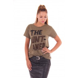By Danie The UNTAMED shirt in army