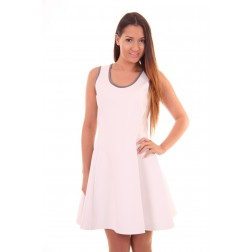 Silvian Heach Shante dress in white