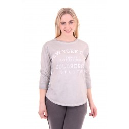 Goldbergh t-shirt, Frederique in grey